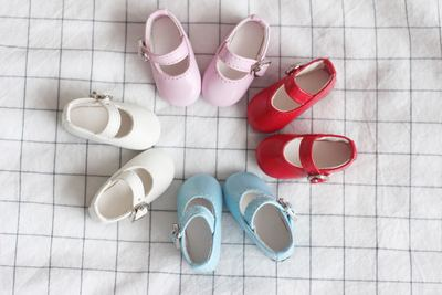 taobao agent 68 free shipping】Men and women dolls all-match casual pu leather shoes flat shoes BJD shoes yosd 1/6 points imda3.0