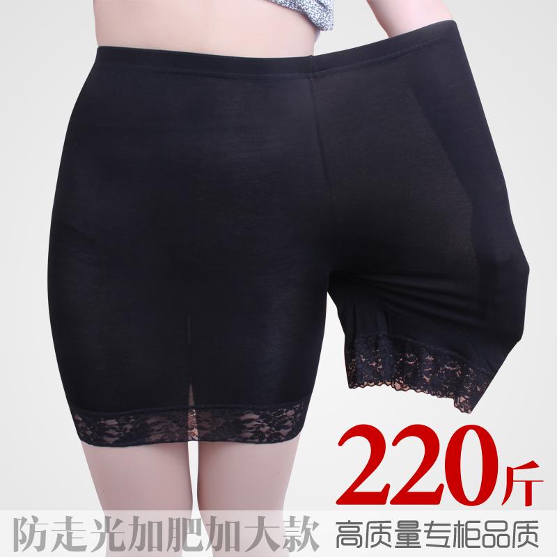 Chống ánh sáng xà cạp năm điểm quần an toàn nữ ren cộng với phân bón XL fat mm bảo hiểm quần quần short mùa hè