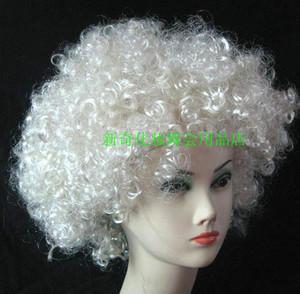Bộ tóc quạt, tóc giả, đồ Halloween, tiệc bar, đồ dùng biểu diễn, tóc trắng, nổ - Sản phẩm Đảng / Magic / Hiệu suất