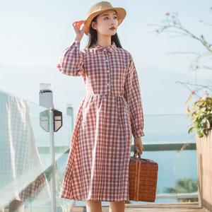 6008#【定价不低于75视频大图都有】【现货实拍】2018春款连衣裙