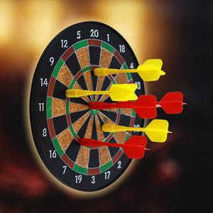 Phi tiêu từ an toàn đặt kích thước đĩa phi tiêu trẻ em phân phối mục tiêu ban đầu 6 phi tiêu từ mạnh - Darts / Table football / Giải trí trong nhà