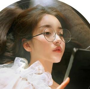 Retro gương phẳng vòng kính khung nam giới và phụ nữ Hàn Quốc phiên bản của xu hướng của khuôn viên sinh viên không có độ cận thị full khung kính