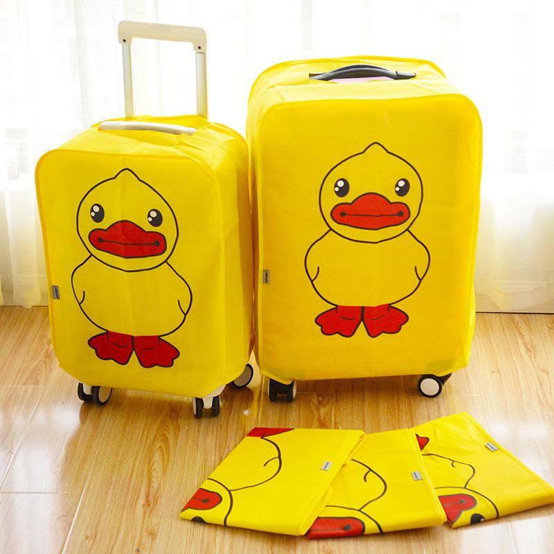 Hành lý mang hành lý trường hợp xe đẩy túi bụi hành lý liên quan phụ kiện đàn hồi bảo vệ bìa dày không thấm nước