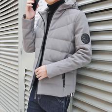 新款羽绒服修身青年男士加厚户外休闲冬装外套滑雪服