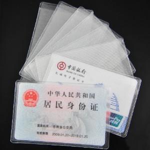 Trong suốt matte chống từ ngân hàng bộ thẻ IC bộ thẻ ID bộ thẻ bộ thẻ xe buýt thẻ thành viên bảo vệ