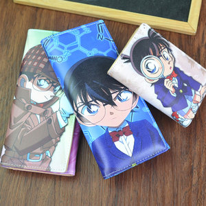 35 trẻ em Hàn Quốc tiểu học và trung học sinh viên ví phim hoạt hình anime ví phần dài cậu bé ví trí thẻ pu khóa thủy triều