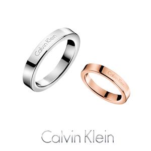 Counter chính hãng CK vài chiếc nhẫn đơn giản nam giới và phụ nữ mô hình titanium vòng thép vòng 18 K rose gold ring sinh viên