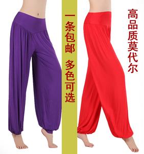 Nhảy vuông cây ra hoa khiêu vũ quần nữ quần dài yoga quần thể dục Tai Chi quần thể thao Phương Thức mùa xuân và mùa hè