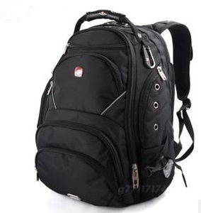 正品瑞士軍刀包15.6寸電腦包雙肩包背包書包大容量旅行包包SA9735