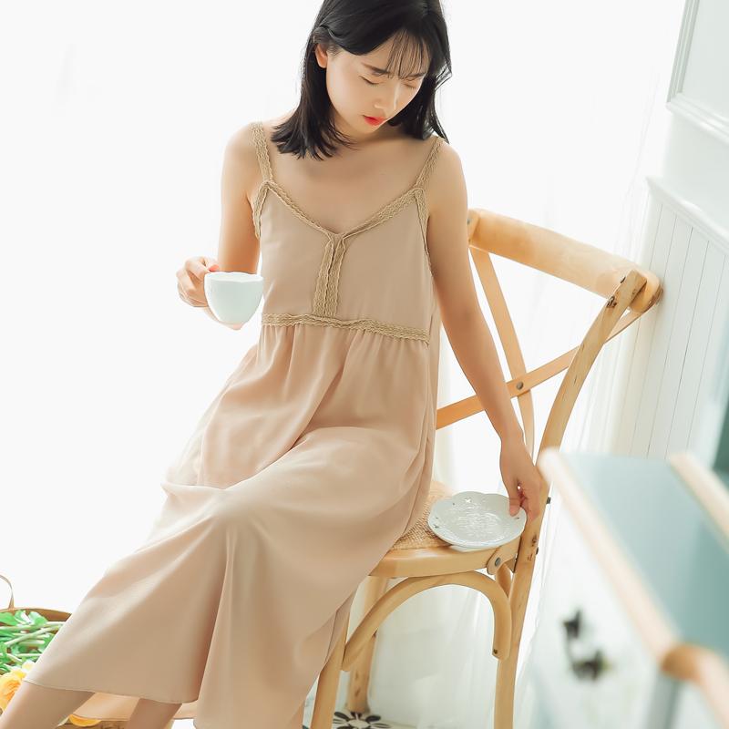 6162#定价不低于59视频大图都有【现货实拍】蕾丝边吊带连衣裙