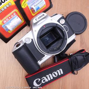Canon KISS máy quay phim tự động phim SLR camera 2 thế hệ bạc duy nhất cơ thể mà không có ống kính để gửi pin