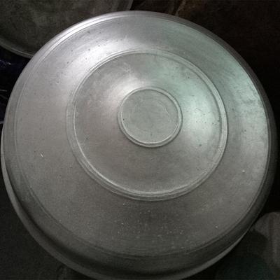 成品纯铝制锅盖倒铝锅模具专用成品铝炒锅盖平