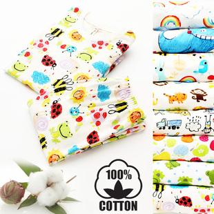 RainbowBus весна хлопок мальчиков девочки длинный рукав домой одежда кондиционер установите ребенок нижнее белье пижама