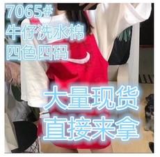 李小姐2018夏季新港风刺绣漏洞原宿背带裙网红吊带连衣裙韩版抖音