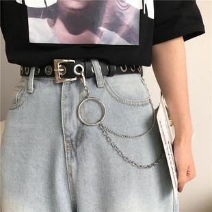 欧美朋克风皮带凹造型腰带
