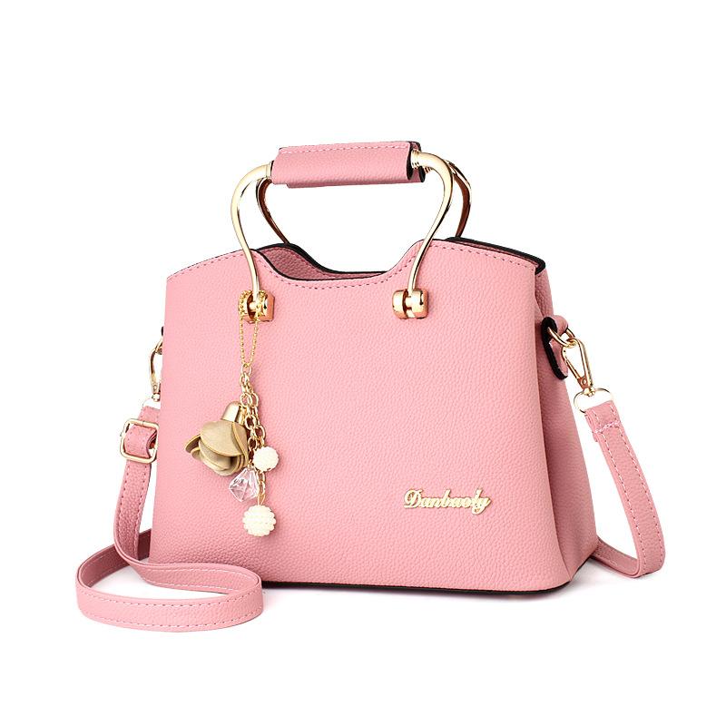 女包新款包包女韩版定型甜美时尚女包斜挎单肩手提包