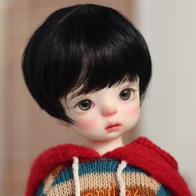 taobao agent 【Kaka Planet】BJD wig 6 points 4 points high temperature silk fake hair men's pretty young hair
