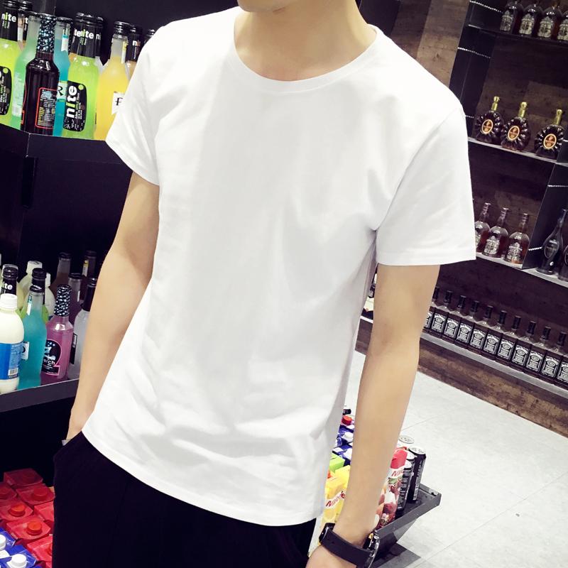 Tinh khiết bông net tĩnh ngắn tay nam ngắn tay t-shirt đẫm máu trắng tất cả các màu đen nửa tay người đàn ông mỏng của áo sơ mi ngắn quần áo đất