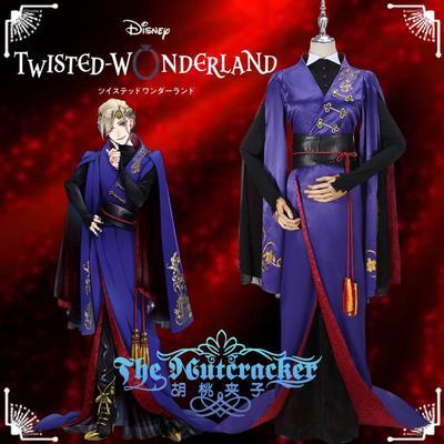 taobao agent Disney Twisted Wonderland Snow White Vil Kimono Men and Women Cosplay Costume K0021