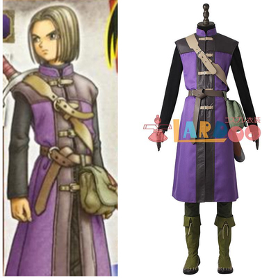 taobao agent Dragon Quest 11: Explorers of the past hero cos suit full set of cosplay costumes