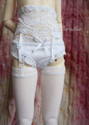 taobao agent 4 points and 3 points BJD.SD.MDD for baby clothes matching ★Black/white sexy lace garter stockings~adjustable~