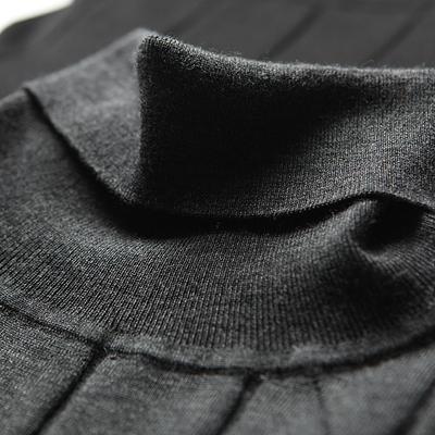 [Giải phóng mặt bằng đặc biệt] len đầy đủ có thể được người đàn ông cá nhân của kinh doanh bình thường cao cổ áo len cơ bản áo len cừu