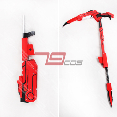 taobao agent Little Red Riding Hood's counterattack RWBY Ruby Ross ruby Crescent Rose Deformable COS custom props