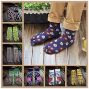 Nhật bản phong cách vớ cotton hai ngón tay vớ Nhật Bản mùa hè và mùa đông điểm vớ ngón tay năm ngón tay vớ vớ nữ cotton toe toe socks