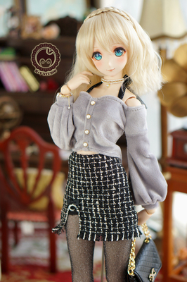 taobao agent 【Meow House】Xiaoxiangfeng daily, Japanese autumn and winter ladies mature and sexy 3 points BJD DDSD1/3 baby clothes