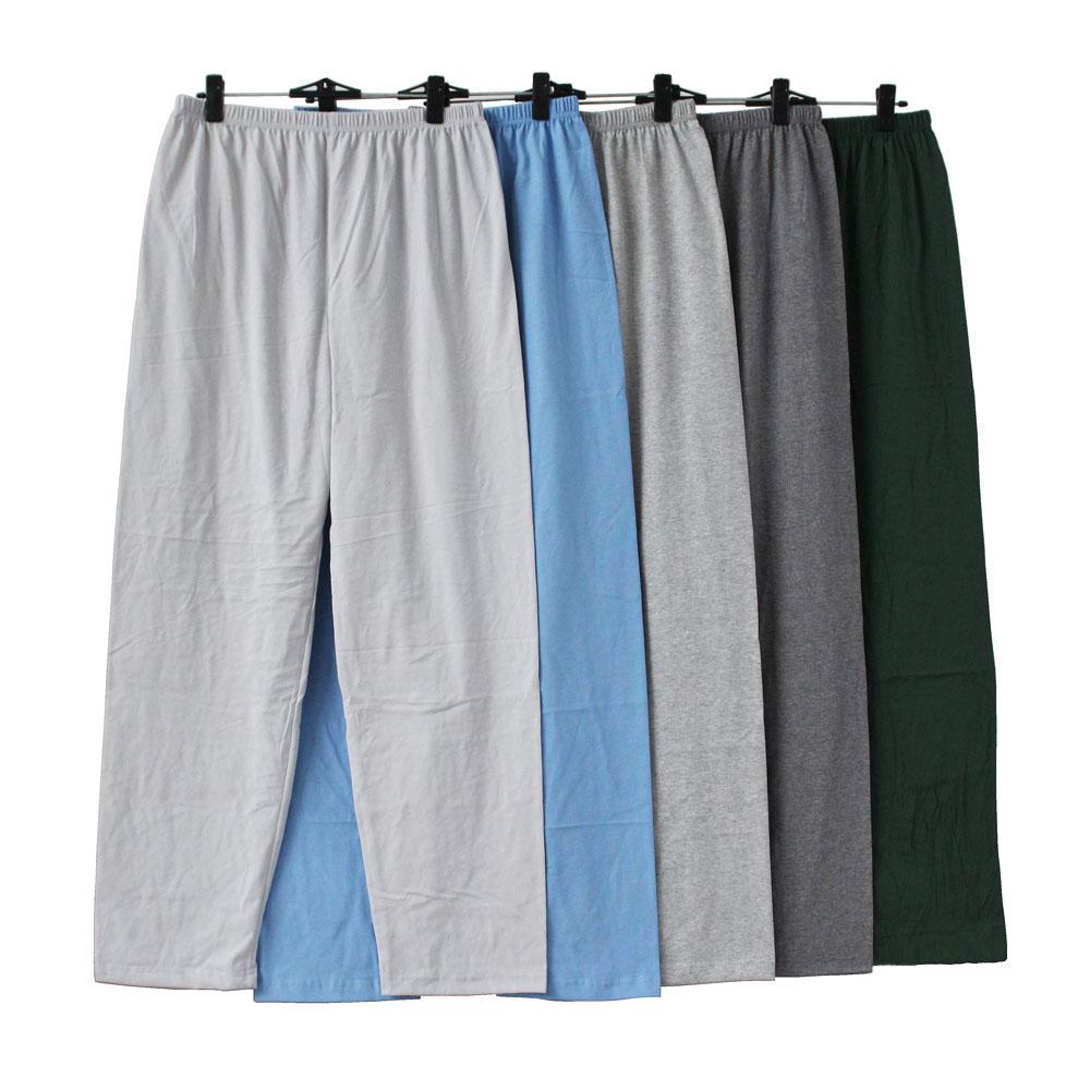 Mùa hè mỏng nam cotton pajama quần lỏng thoải mái kích thước lớn của nam giới nhà quần