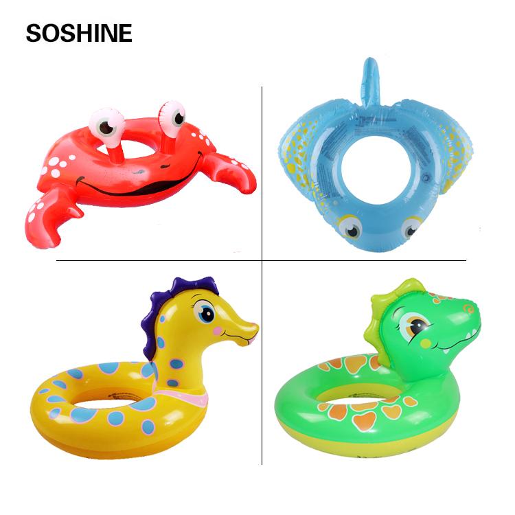 Bơi vòng trẻ em của bé bơi động vật hồ bơi bơm hơi đồ chơi nước giảng dạy đào tạo bơi inflatable