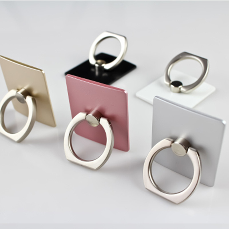 手机指环扣批发 二维码定制LOGO定做广告 指环支架 手机配件批发