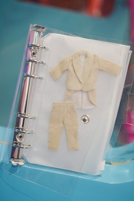 taobao agent Ob11 baby clothes storage book clothes storage bag storage