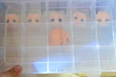 taobao agent Obitsu11ob11cu-poche clay available storage box, expression short hair storage