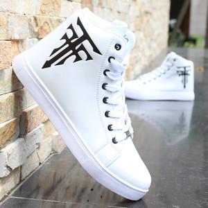 Mùa xuân và mùa thu cao-top giày nam giày thường của Hàn Quốc phiên bản của xu hướng vô hình tăng ở nam giới của giày thể thao giày thoáng khí Gaobang giày