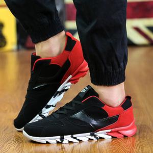 韩版潮男鞋子低帮英伦潮流休闲鞋青少年刀锋潮鞋秋冬款学生运动鞋