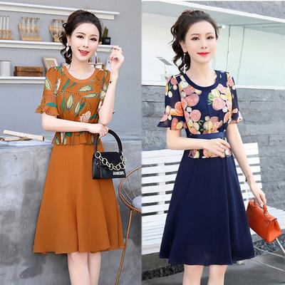 Nữ Sandman 30-một cái gì đó người phụ nữ ăn mặc váy mùa hè ăn mặc phong cách mới dài ăn mặc