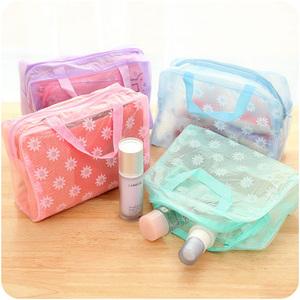Túi rửa túi du lịch trong suốt lưu trữ làm sạch nguồn cung cấp chăm sóc phân loại túi d phòng tắm không thấm nước rửa túi mỹ phẩm túi d
