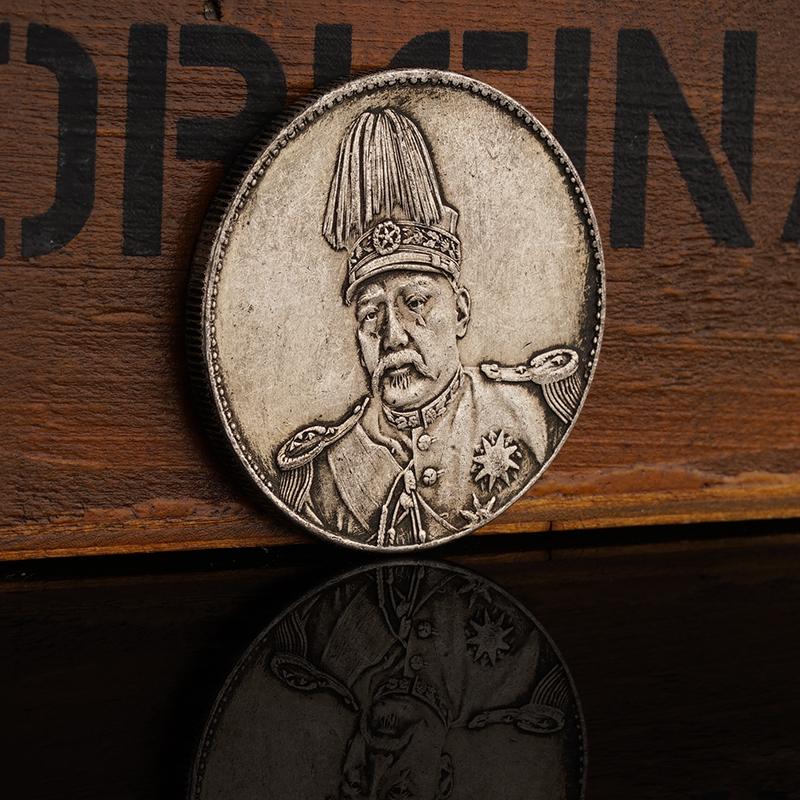 Trung quốc Empire Hongxian Kỷ Nguyên Feilong Bạc Dollar Bạc Coin Nhân Dân Tệ Datou Bạc Nhân Dân Tệ Yuantou Coin Antique Coin Collector