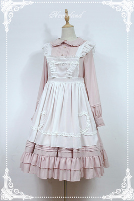 taobao agent soufflesong exclusive【Rosemary】Detachable apron blouse skirt does not contain dresses, no stock