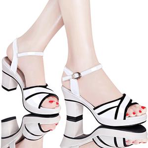 专柜正品 高跟鞋 凉鞋 镜面 女鞋 DS12-3082P120 最低销售价158