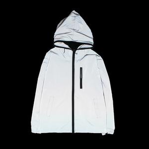 Mùa xuân phần mỏng sáng phát sáng tấn công áo gió Nhật Bản xu hướng sinh viên 3 M phản quang quần áo nam giới và phụ nữ huỳnh quang áo khoác