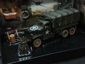 FOV1: 32 Quân Đội MỸ 2.5 tấn 6x6 bánh xe hợp kim hoàn thành mô hình tĩnh đồ trang trí hiển thị sưu tầm