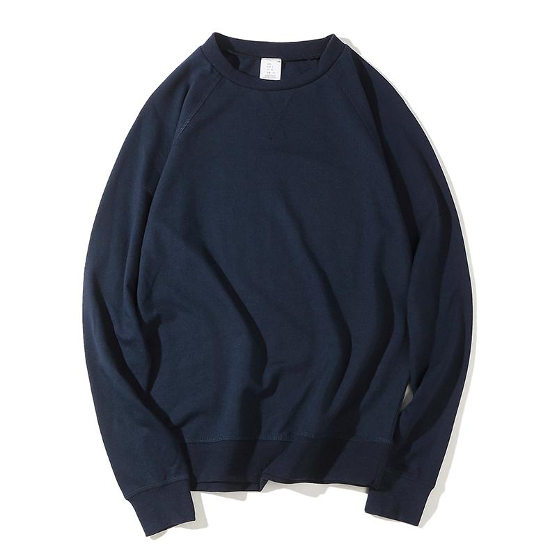 Mùa hè và mùa thu mỏng thể thao áo len nam vòng cổ áo thun dài tay t-shirt lỏng cộng với phân bón XL 2018 new
