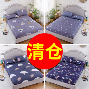 Tấm ga trải giường giường đơn bìa Simmons bảo vệ bìa bụi che mỏng nâu nệm bìa 1.2 1.5 1.8 m giường