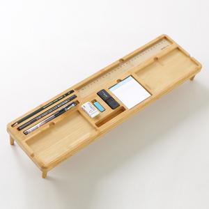 [悦见家居] 原创简约楠竹桌面收纳置物架