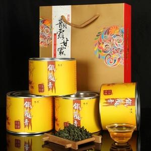 福建安溪清香型铁观音茶叶高山乌龙茶送礼铁罐装中秋送礼茶新茶