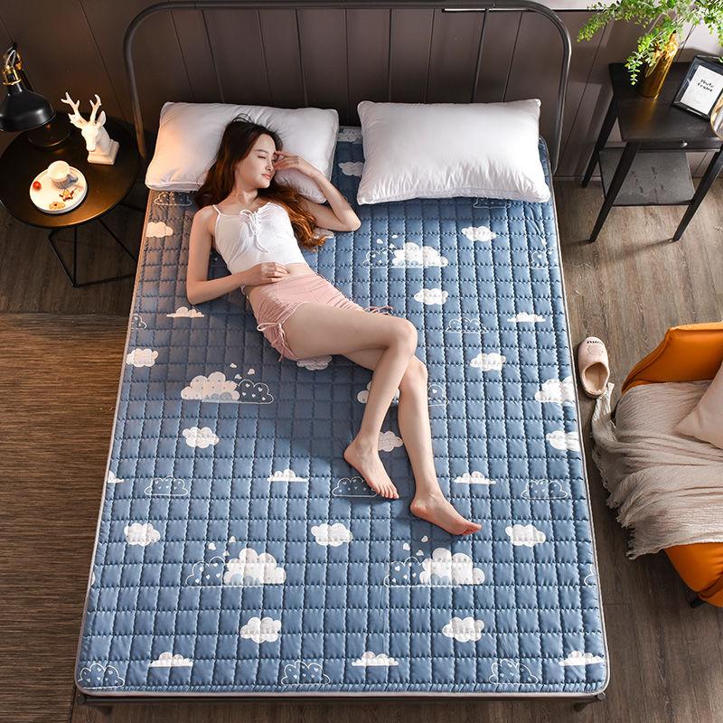 2020可机洗床垫四季床护垫榻榻米防滑保护垫床褥子单双人学生宿舍
