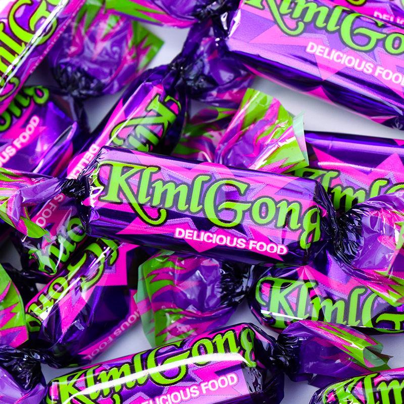 国产紫皮糖巧克力夹心糖俄罗斯风味喜糖零食糖果200g年货礼盒