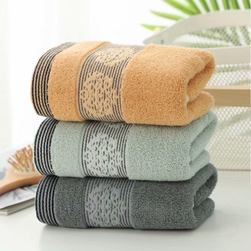 居家日用纯棉毛巾成人学生大毛巾洗脸巾